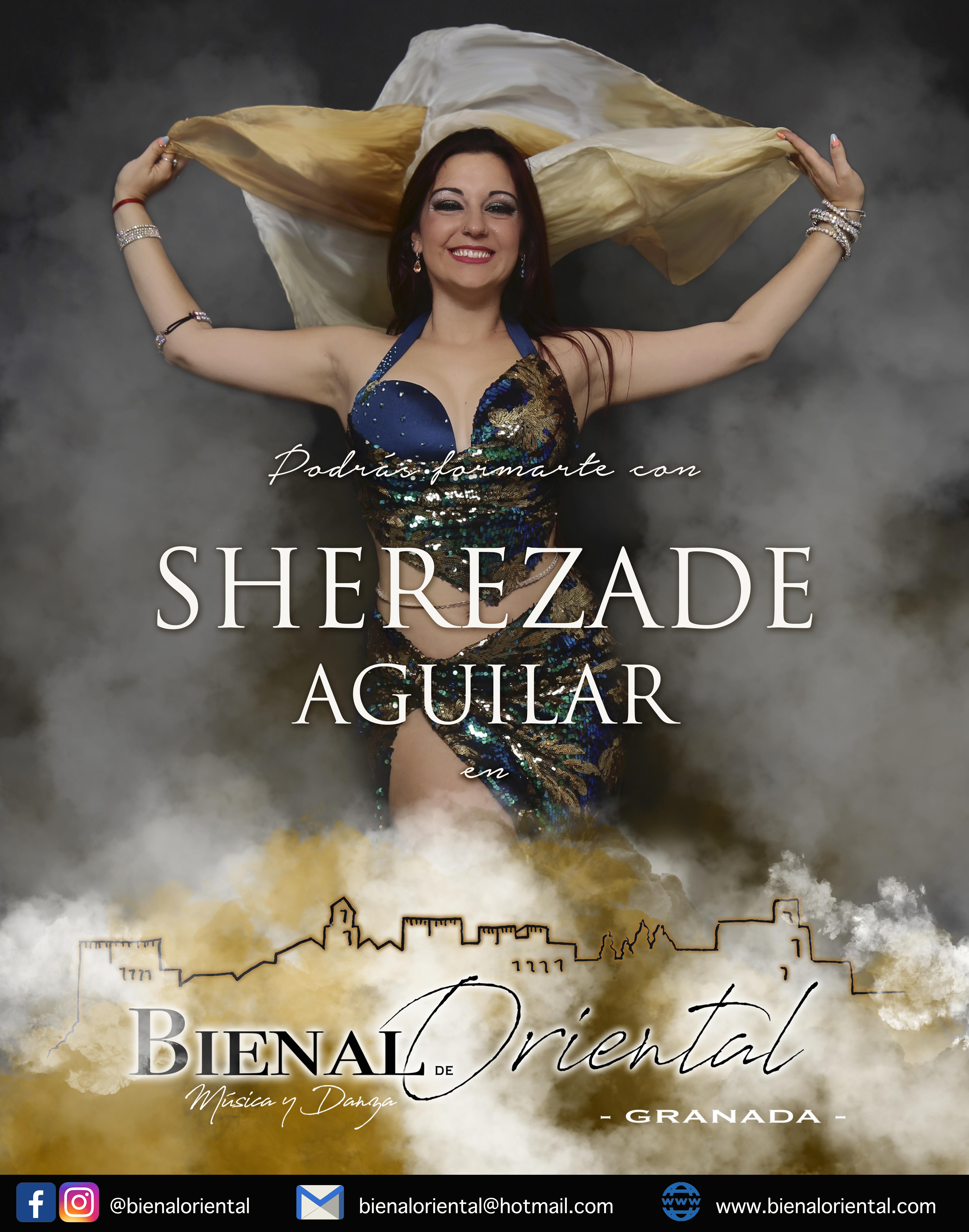 SHEREZADE AGUILAR - ESPAÑA