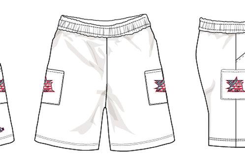 White Micro Shorts