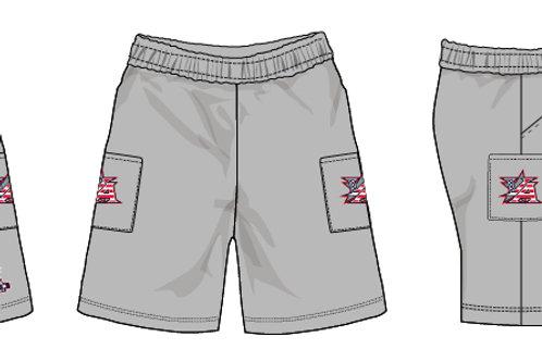 Light Grey Micro Shorts