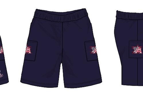 Navy Micro Shorts