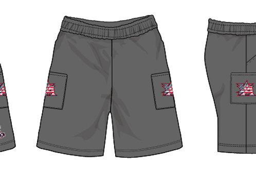 Grey Micro Shorts