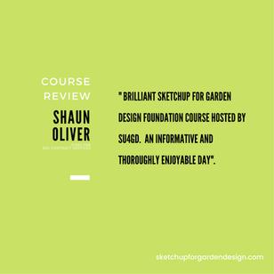 SketchUp for Garden Design, Course Review : Shaun Oliver