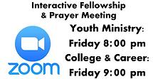 Zoom Interactive Fellowship & Prayer Mee