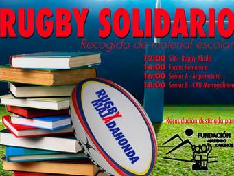 Rugby Solidario: Sábado 25 de Febrero