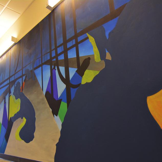 LIGHTING - Mural at DePaul University