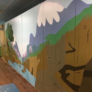 MOUNTAIN - Mural at Metropolis Performing Arts Center