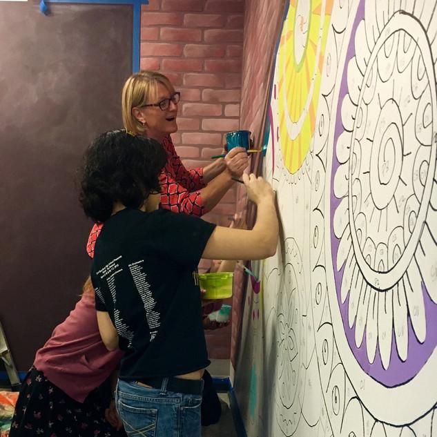 MARKETING - Community Mural at DePaul University