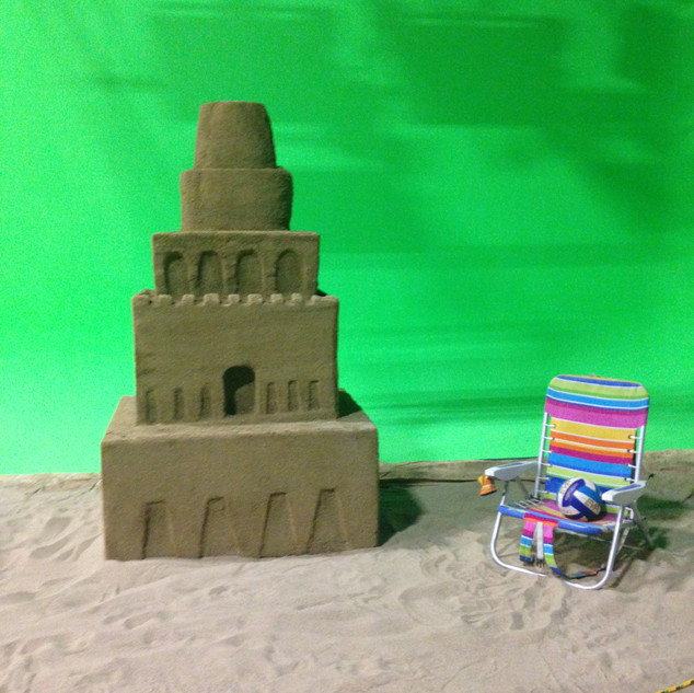 Sandcastle Carving and Dressing