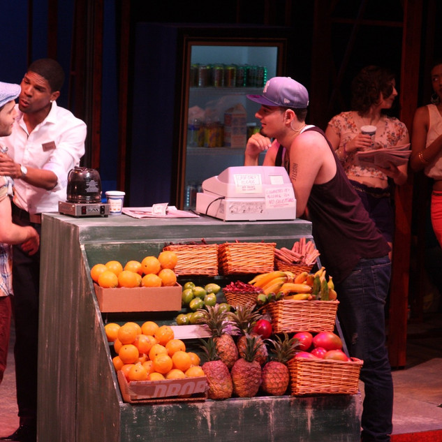 IN THE HEIGHTS - Fruit Stand Painting and Dressing