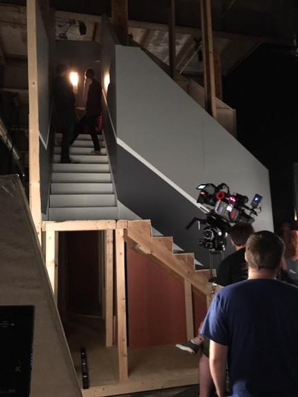 Stair Filming Process