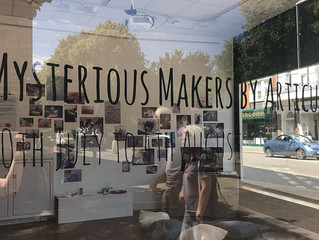 """Articulate's """"Mysterious Makers"""" exhibition"""