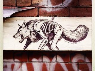 Spotting wall drawings