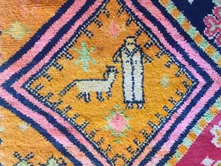 Textiles in Agadir, Morocco