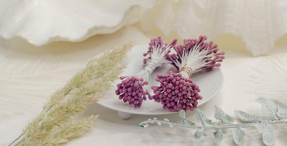 Тычинки матовые пучок 1мм , пыльная роза