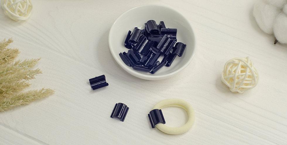 Пластиковая основа для резинки , черная большая