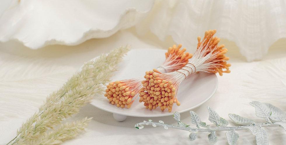 Тычинки матовые пучок 1мм оранж