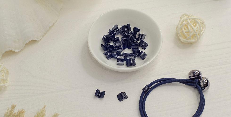 Пластиковая основа для резинки , черная маленькая