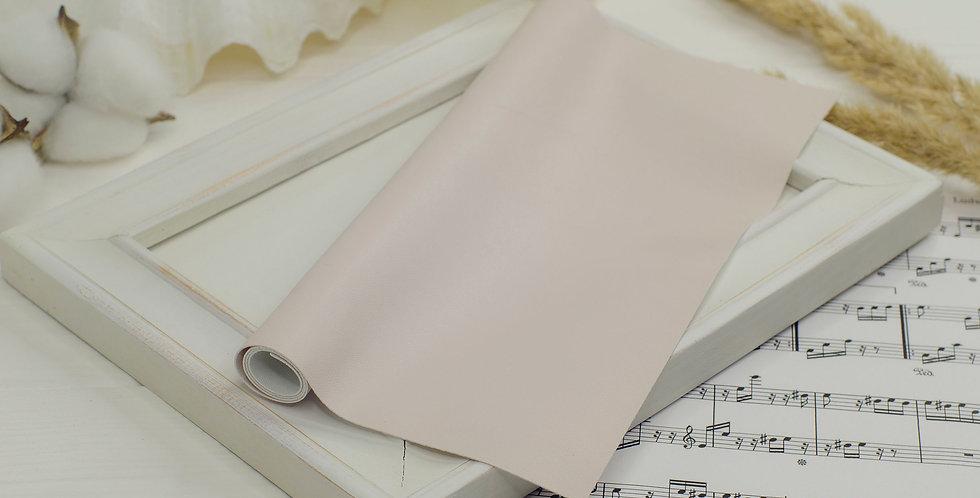 Эко-кожа мягкая тонкая , пыльно розовый