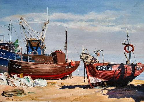 BEACHED FISHING FLEET, TONY FANDINOFRSA