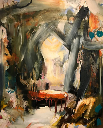 IAN RAYER-SMITH Chasm, 2018
