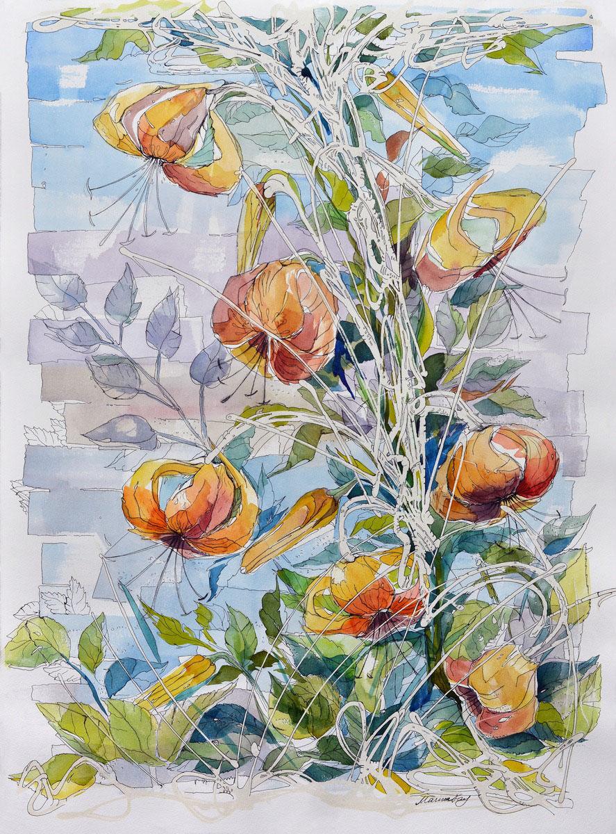 'FLOWERS IN THE GARDEN' (2017)