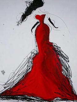 'RED DRESS' (2017)