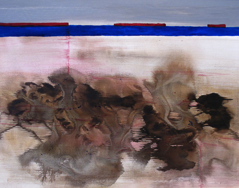 'EARTH SERIES - MUD SLIDE' (2015)