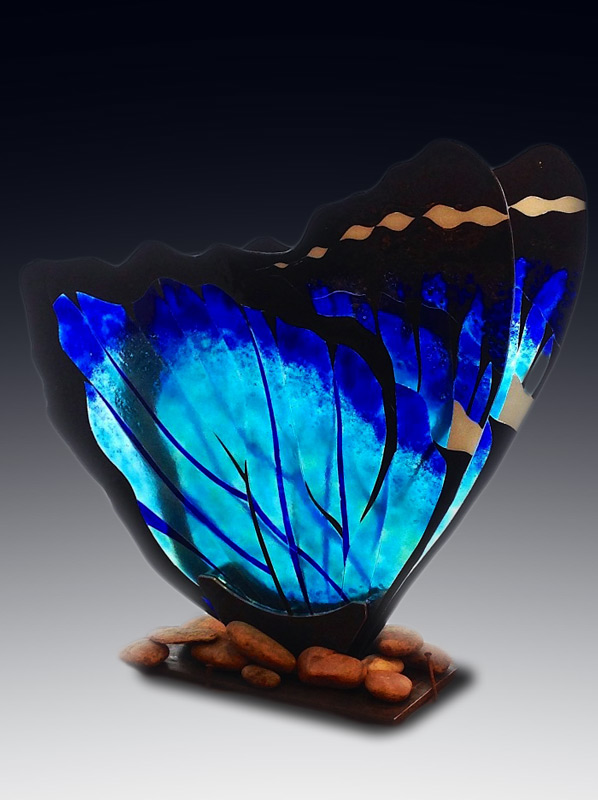 'BLUE MORPHO BUTTERFLY' (2016)