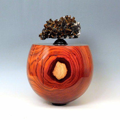 STEVEN POTTS Cocobolo Vessel, 2019