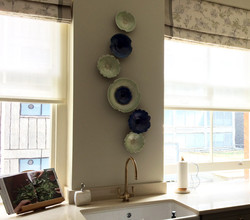 View Debra Steidel's Wall Sculpture Installations Sapphire Blue