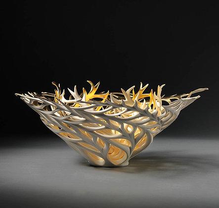 JENNIFER MCCURDY Gilded Gilded Coral Nest, 2019