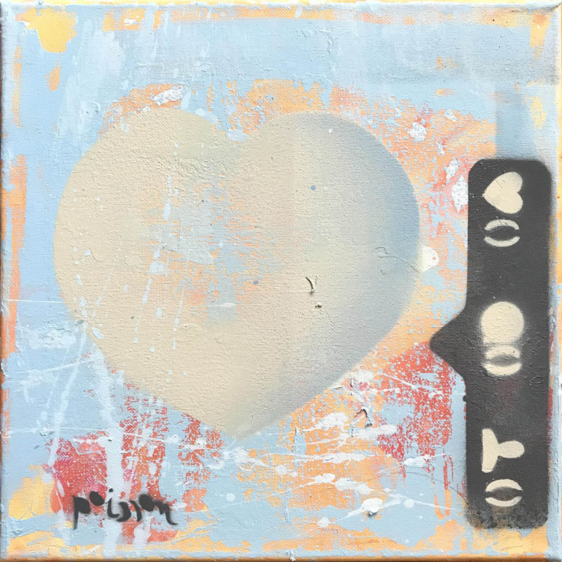 'HEART BLUE ORANGE 5A 0L' (2017)