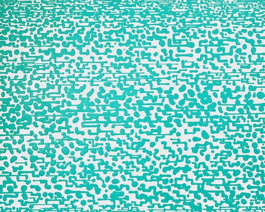 COLIN MCCALLUM Template Turquoise, 2014