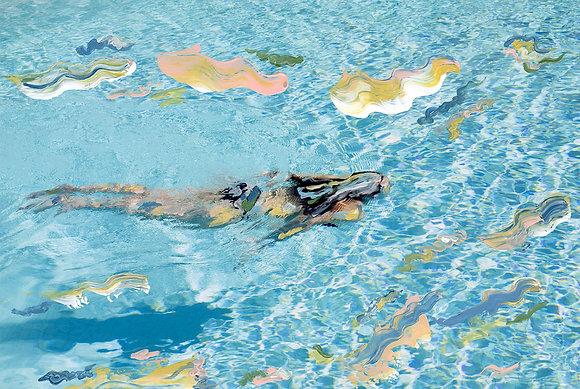SOLD MADELEINE GROSS Swim, 2019