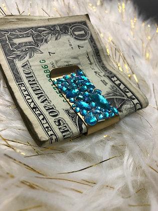 Blue Dreams Money Clip