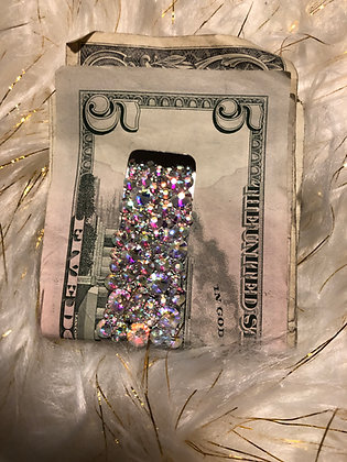 Crystal Clear Money Clip