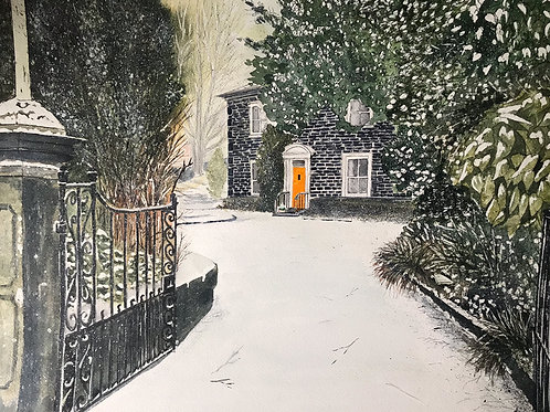 'Lower Laithe House' Limited Edition A3 Print