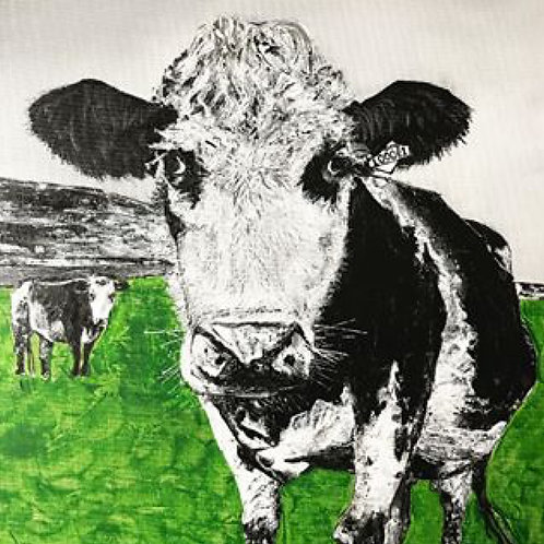 'What you looking at' Limited Edition A3 Print