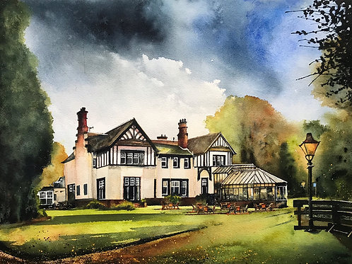 'Hunting Tower Hotel' Limited Edition A3 Print