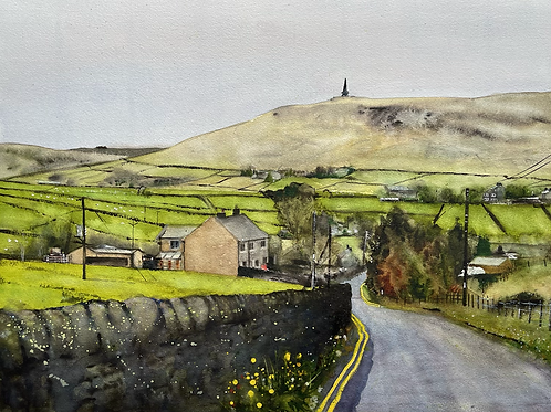 'Lumbutts Road' Limited Edition A3 Print