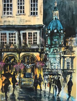 Edinburgh - 'Deacon Brodie's Tavern'