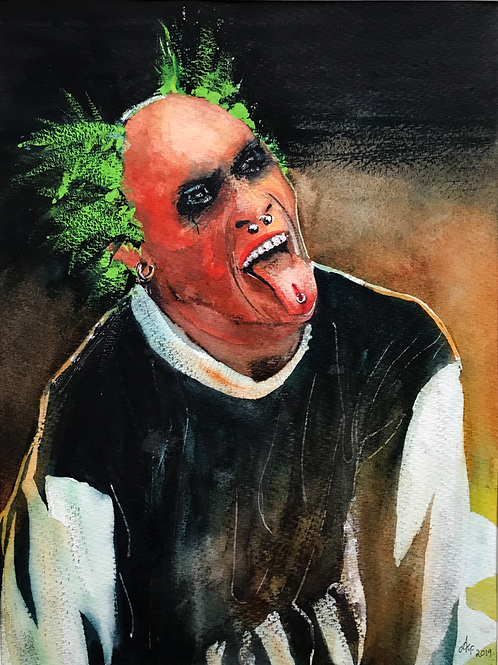 'Keith Flint' Limited Edition A3 Print