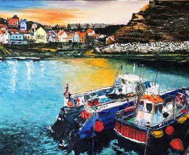 Staithes - Fishing Boats