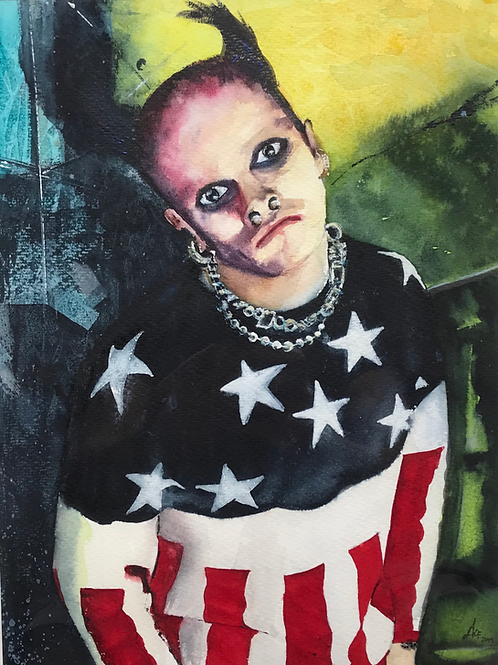 'The Prodigy' Limited Edition A3 Print