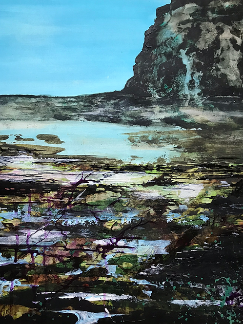 Staithes 'Rock Pools' Limited Edition A3 Print