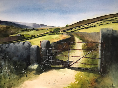 'Whirlaw Gate' Limited Edition A3 Print