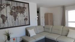 Woonkamer met sofa