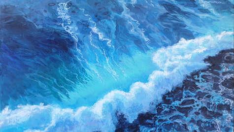 90 x 120 cm Acrylic on canvas