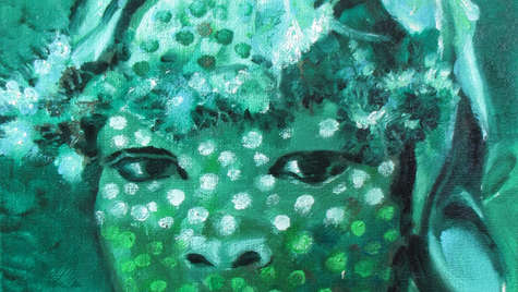 30 x 24 cm Oil on canvas