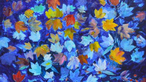 Acrylic on canvas 100 x 135 cm